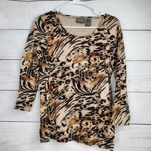Addictions By Chico's Animal Print